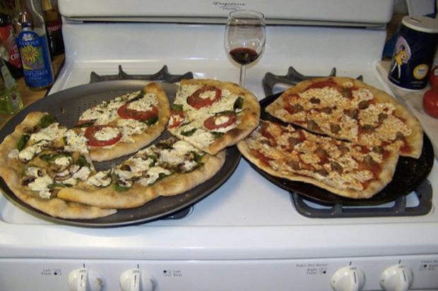 pizza google photo captions