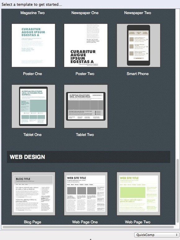 quickcomp1 templates