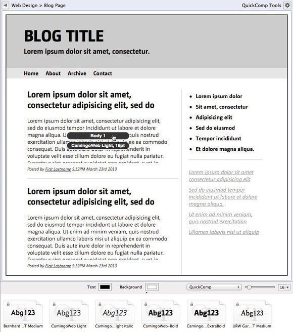quickcomp2 blogpage
