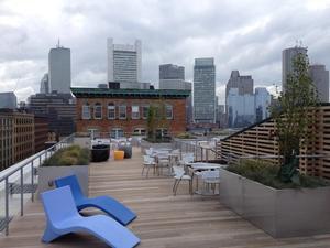 LogMeIn's roof deck