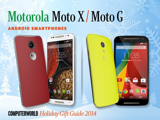 Motorola Moto X and Moto G