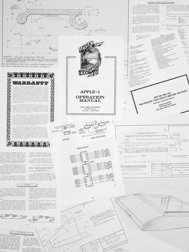 Ron Wayne's Apple document collection