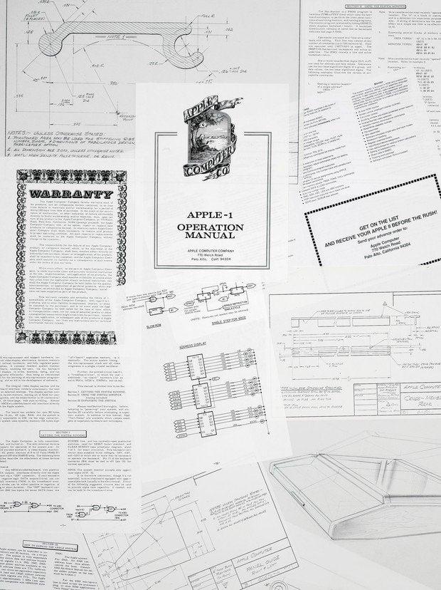 Ron Wayne's Apple document collection