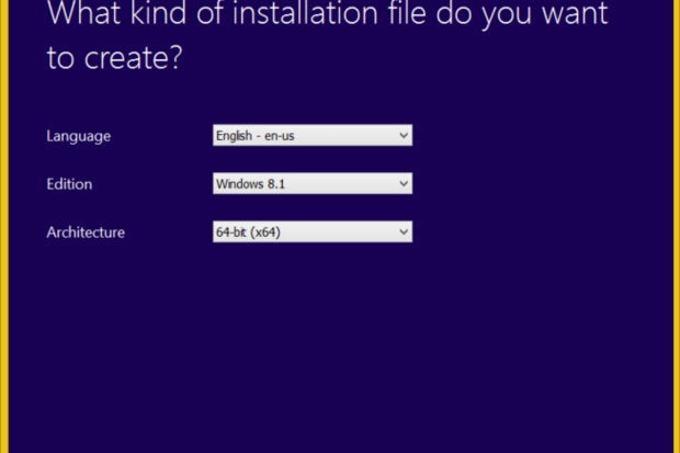 windows installation media8.1