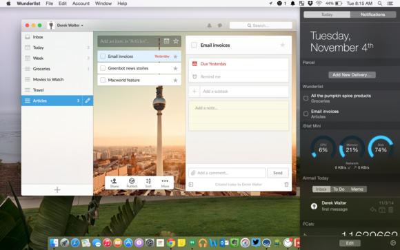 5 cool widgets for Yosemite's Notification Center | Macworld