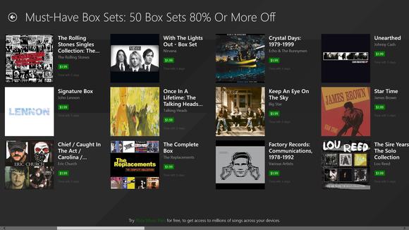 xbox music box sets