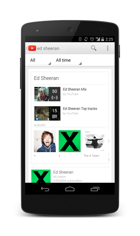 youtube music key 2