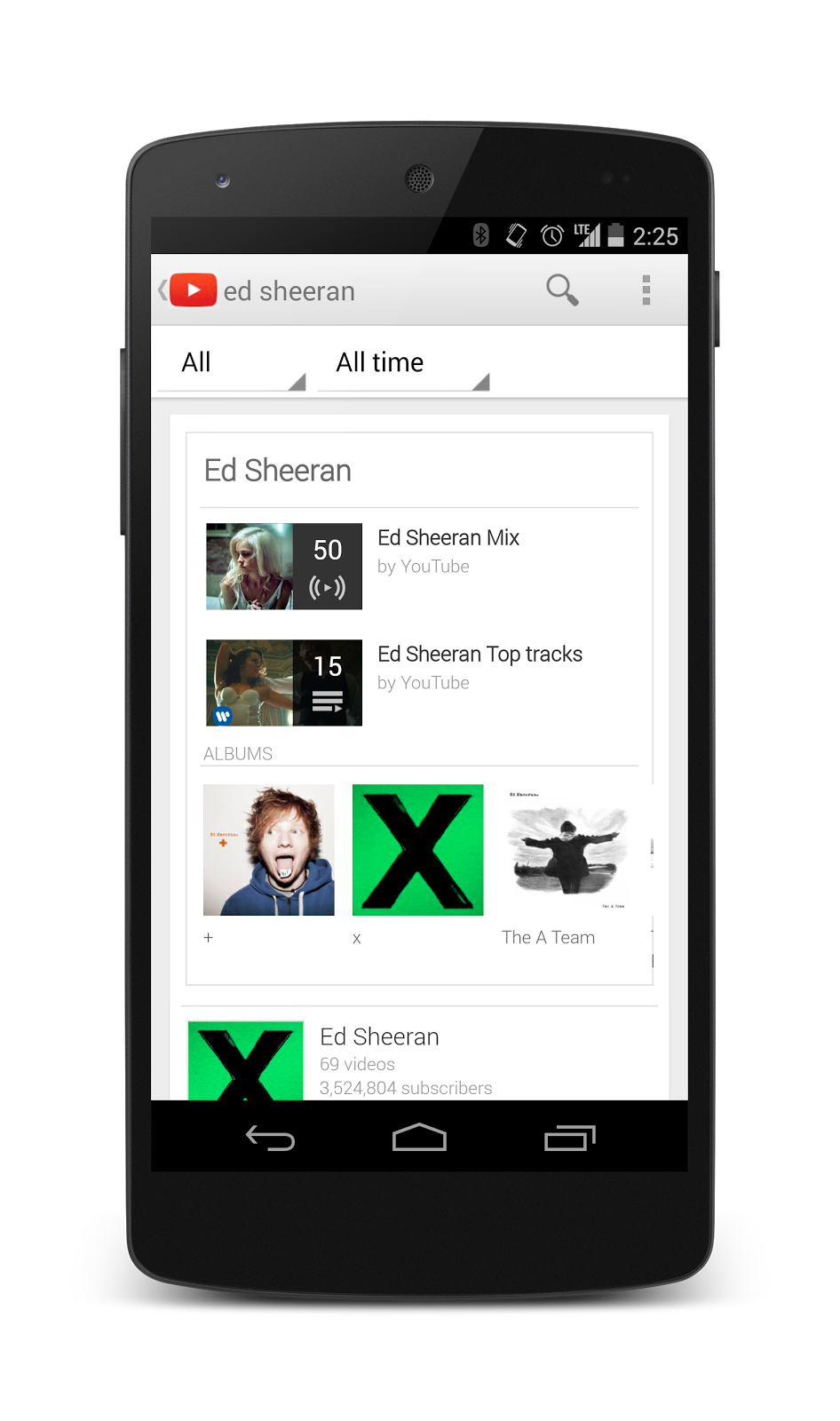 Google YouTube Music Key One-ups Streaming Music Services