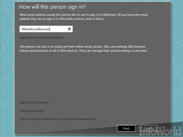 Section: Windows Installation and Setup/First sign-in Start screen layout or app registration