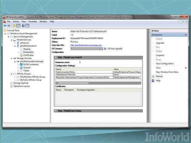 Windows Azure Platform Management Tool (MMC)