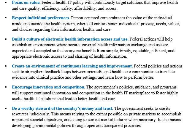 Federal agencies collaboration for federal health it strategic plan