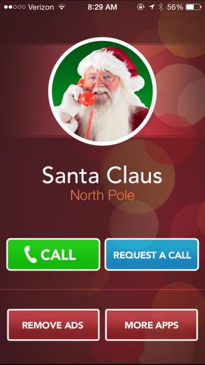 a call from santa