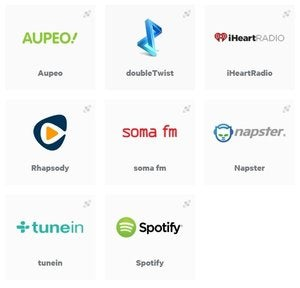 AllPlay-ready streaming services