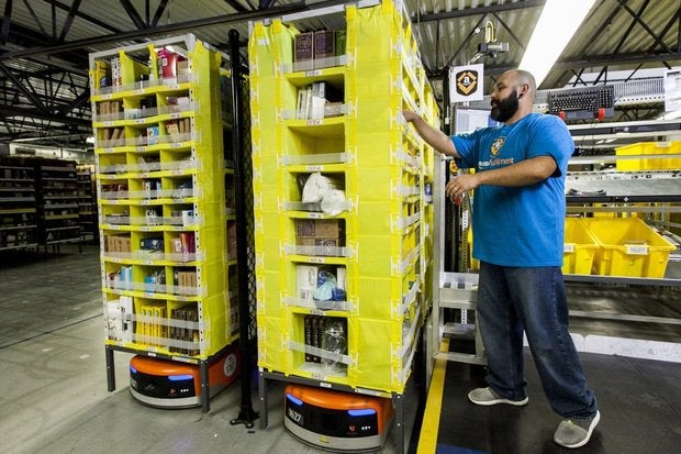 amazon robot kiva picker