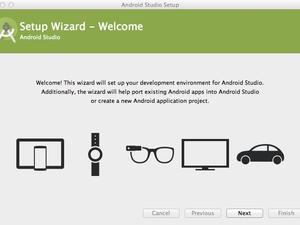 android studio wizard