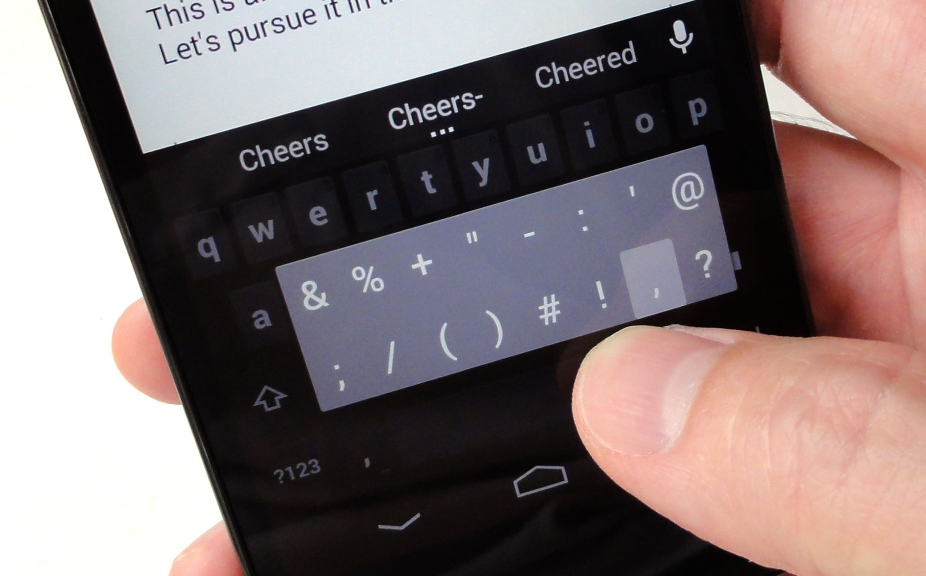 9 typing tips every android and ios user should know pcworld biocorpaavc Images