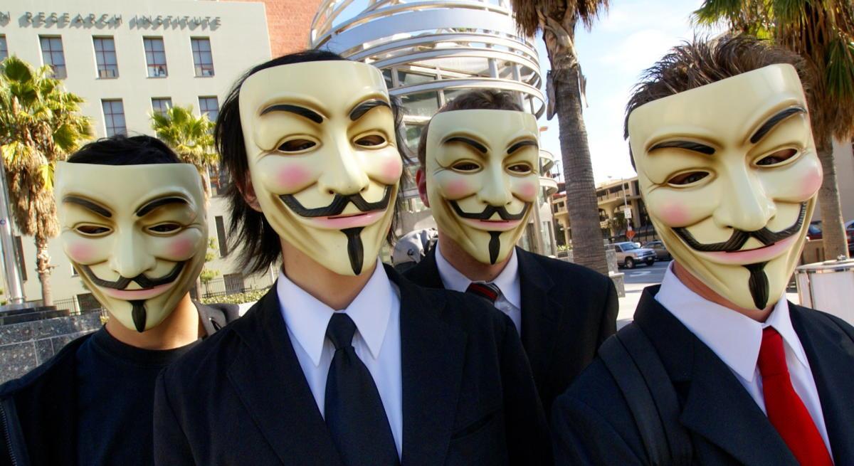 Anonymous hacking war attacks ISIS Paris attacks