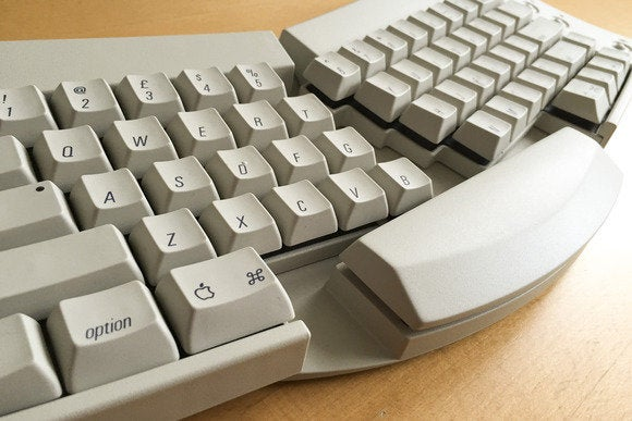 Image Result For Think Retro Apples Adjustable Keyboard Harkens Back To The Days Of Touch Typing
