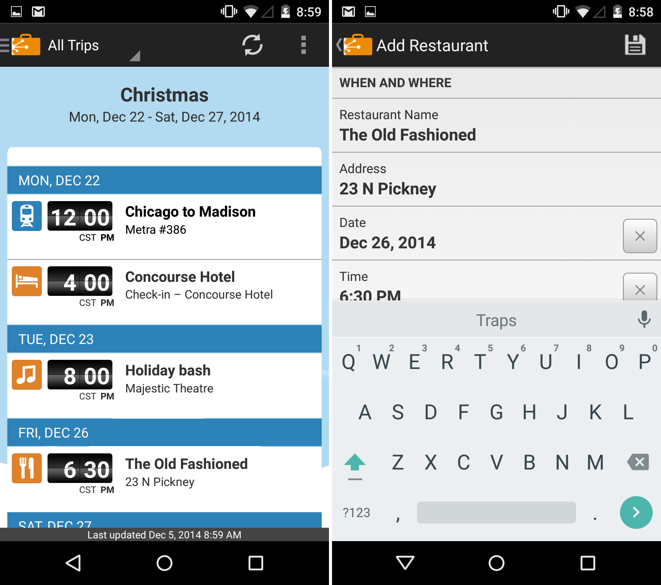 The best free Android travel apps