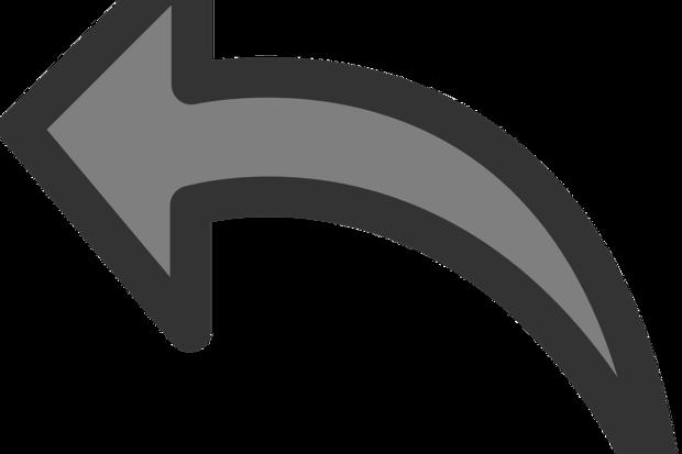 gray undo arrow