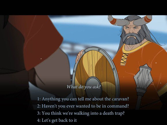 bannersaga conversation