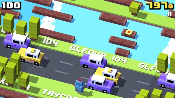 bestgames2014 crossyroad