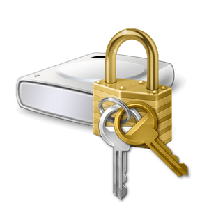 bitlocker encrypt icon