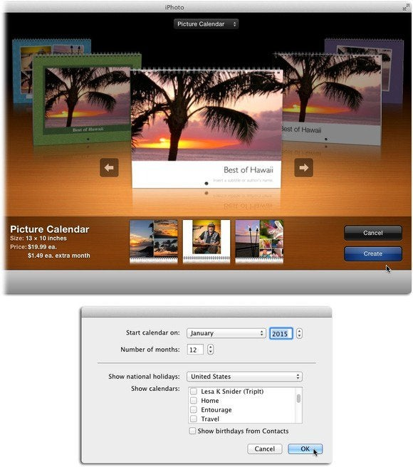 How To Make Beautiful Calendars With Iphoto Macworld