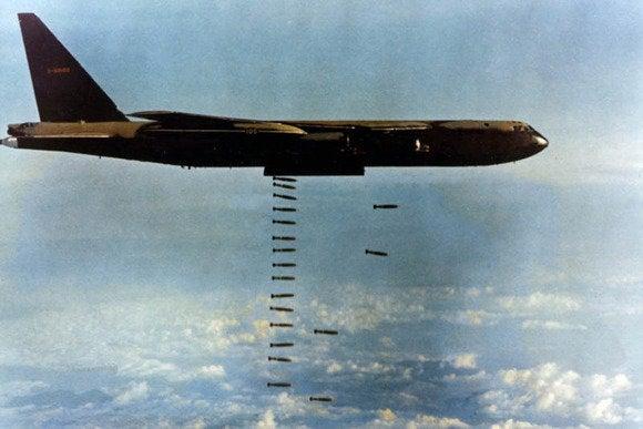 carpet bombing