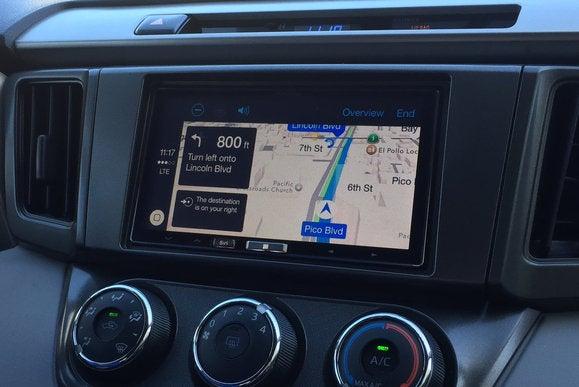 carplay alpine3 navigate