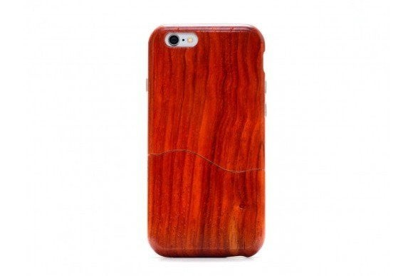 carved solidwood iphone