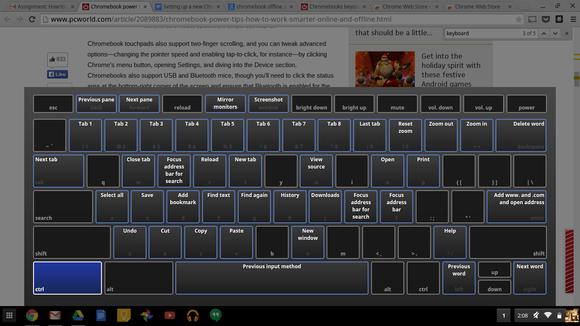chromebook shortcut keys