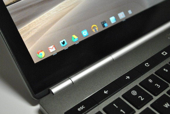 chromebook detail display hinge