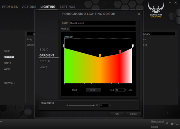 Corsair K70/K95 Software