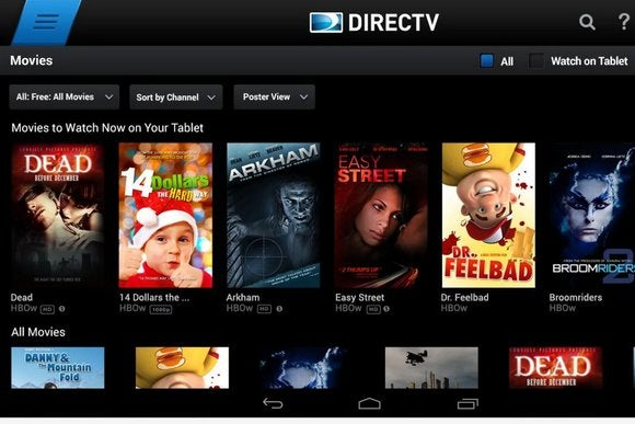 DirecTV Android app adds 13 new live streaming channels | Greenbot