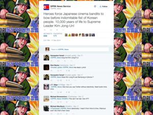 DPRK parody account on Twitter