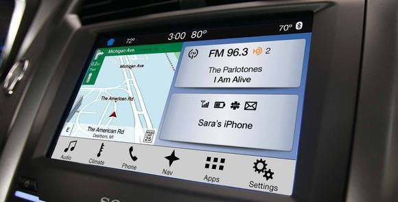 ford sync 3 home screen