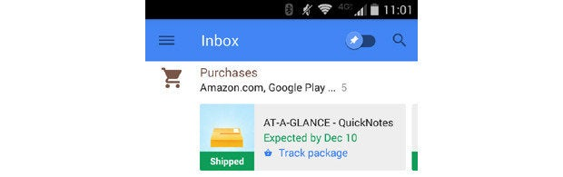 Google Inbox Highlights