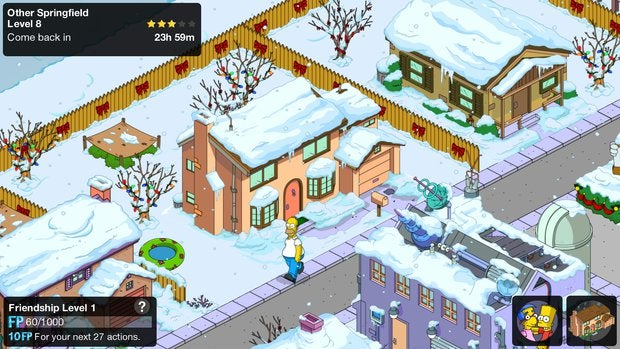holidaygames simpsons