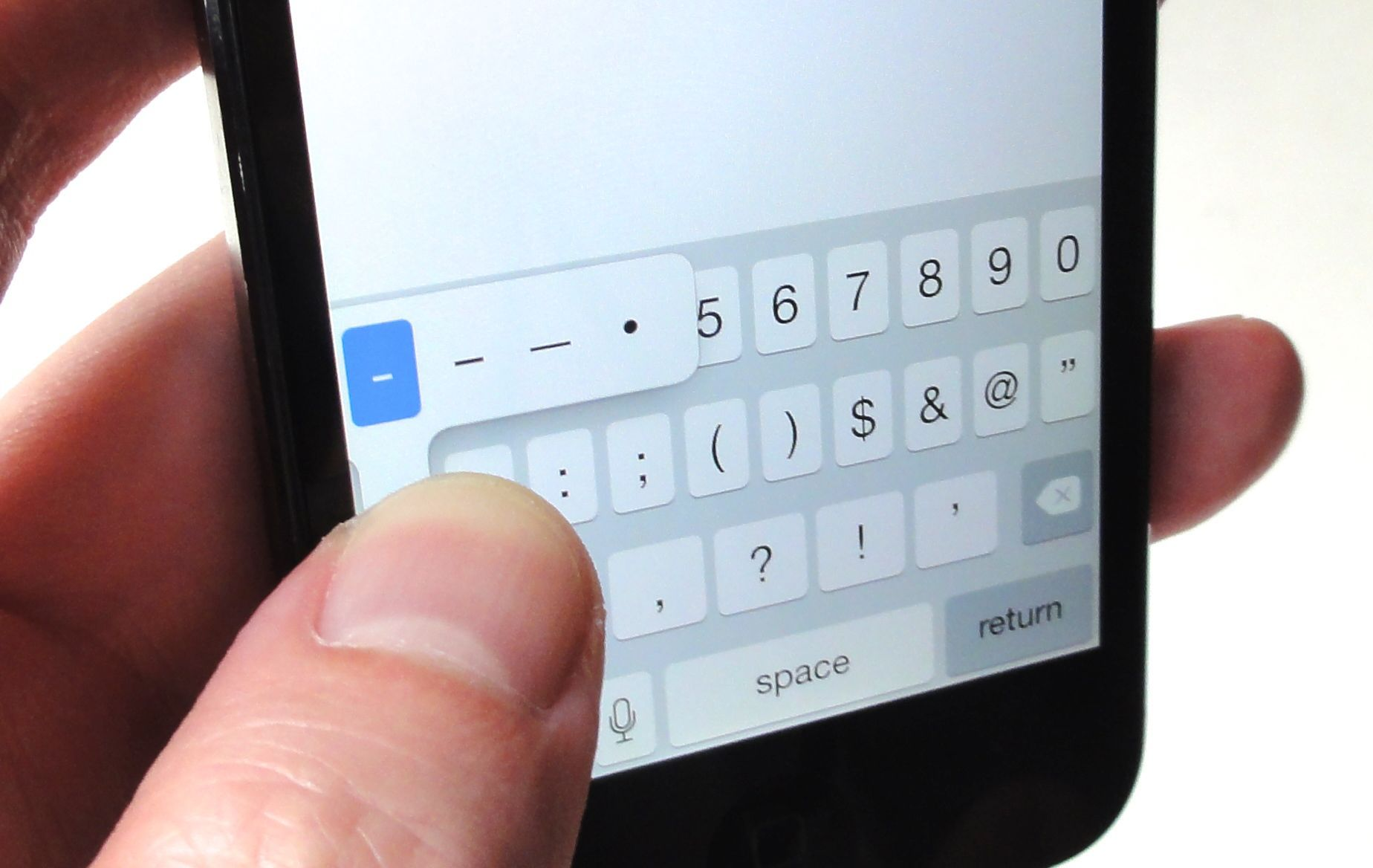 9 Typing Tips Every Iphone And Ipad User Should Know Macworld