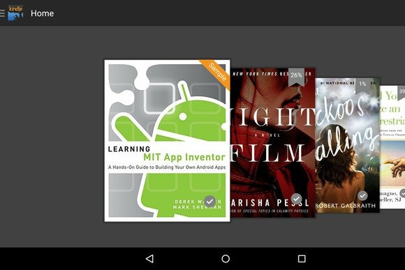 Kindle app update adds X-ray, push notifications, better