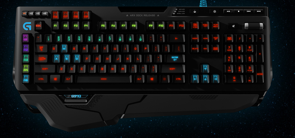 c2f705117ba Logitech G910 Orion Spark mechanical keyboard review: Beautiful ...