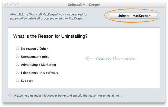 mackeeper uninstall