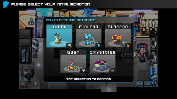 micromon choosing your first micromon