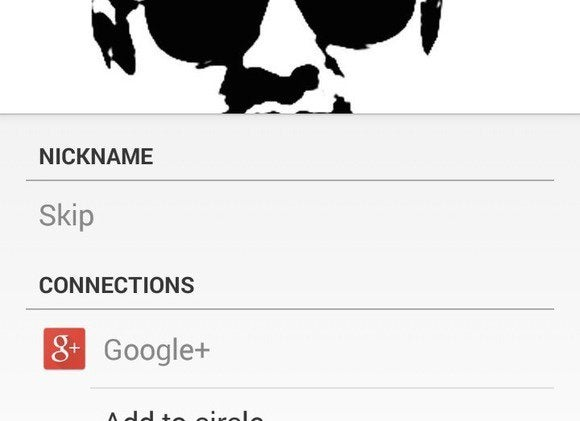 mobile contact tips nickname field 6