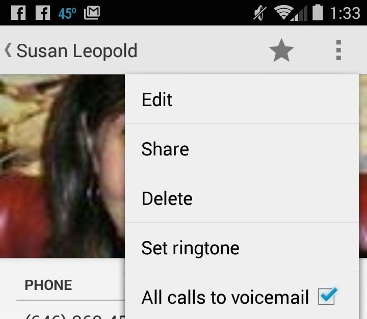 how to change voicemail on android