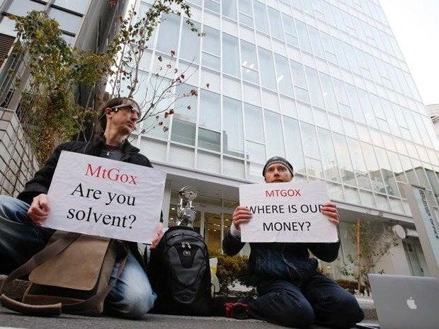 mtgox protestors