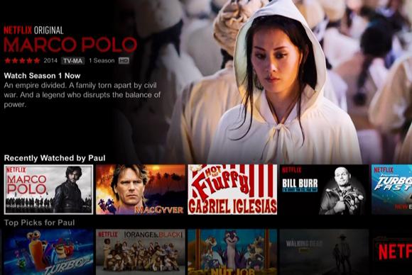 Netflix on Dish