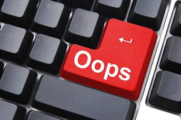 oops keyboard