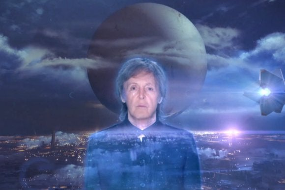 Paul McCartney Hologram
